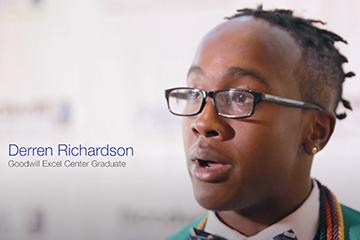 GEC graduate Derren Richardson
