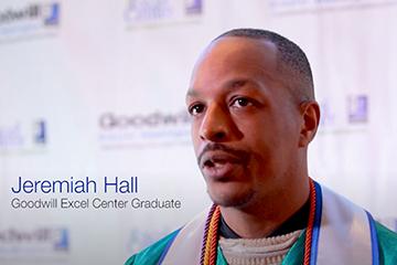 GEC graduate Jeremiah Hall