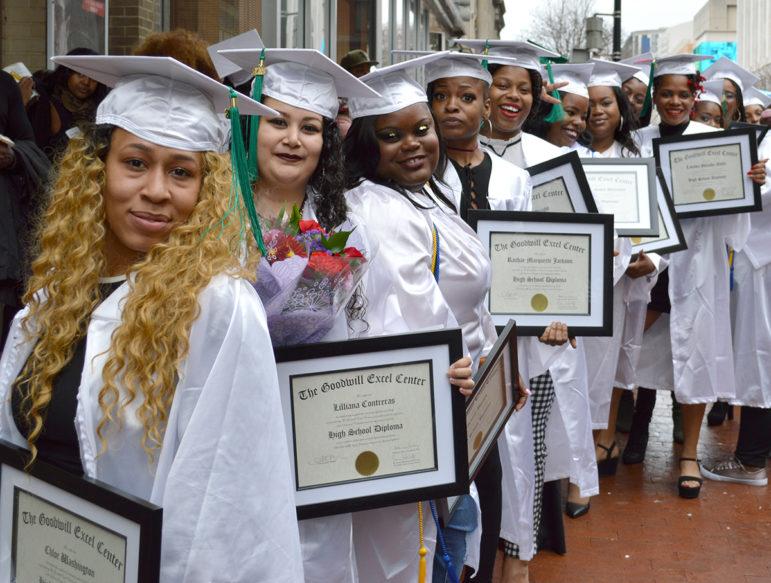 Goodwill Excel Center graduates