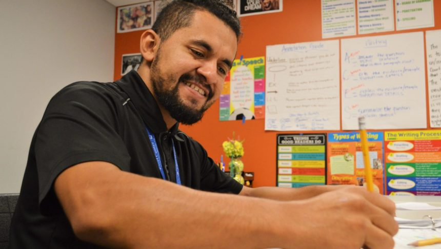 Goodwill Excel Center student Josue Lemus